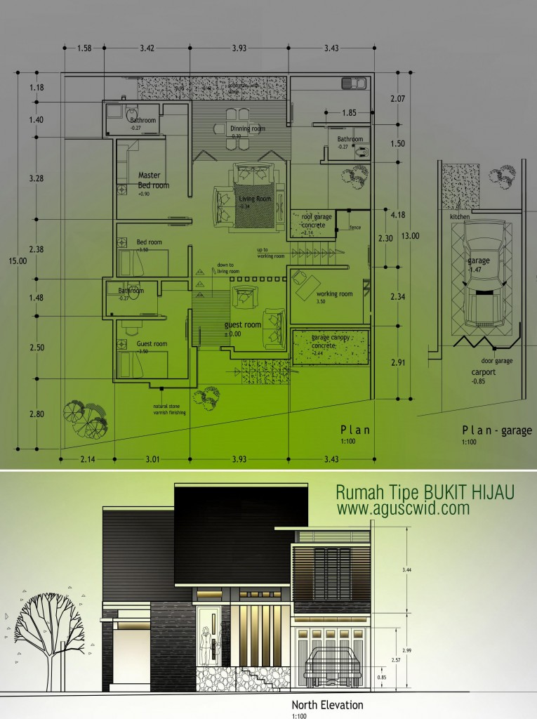 Rumah Tipe Bukit Hijau