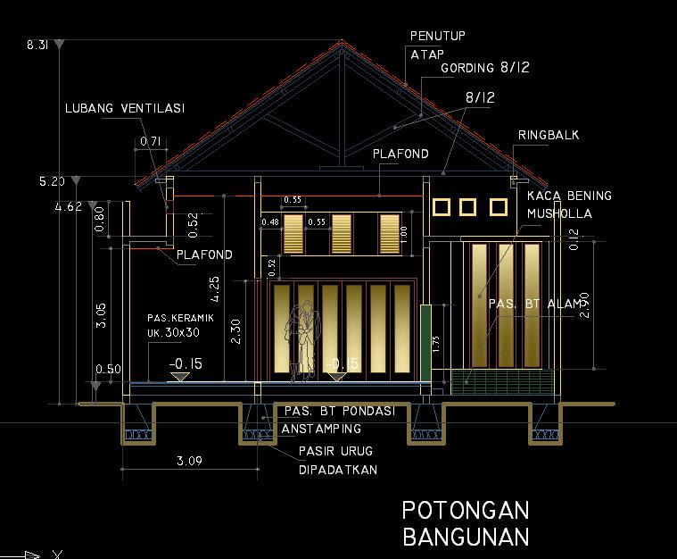 89 Tutorial Desain Rumah Dengan Autocad 2010