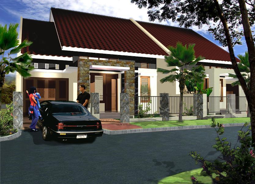 Rumah di lahan lebar 9 meter