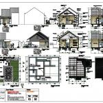 contoh gambar perencanaan rumah