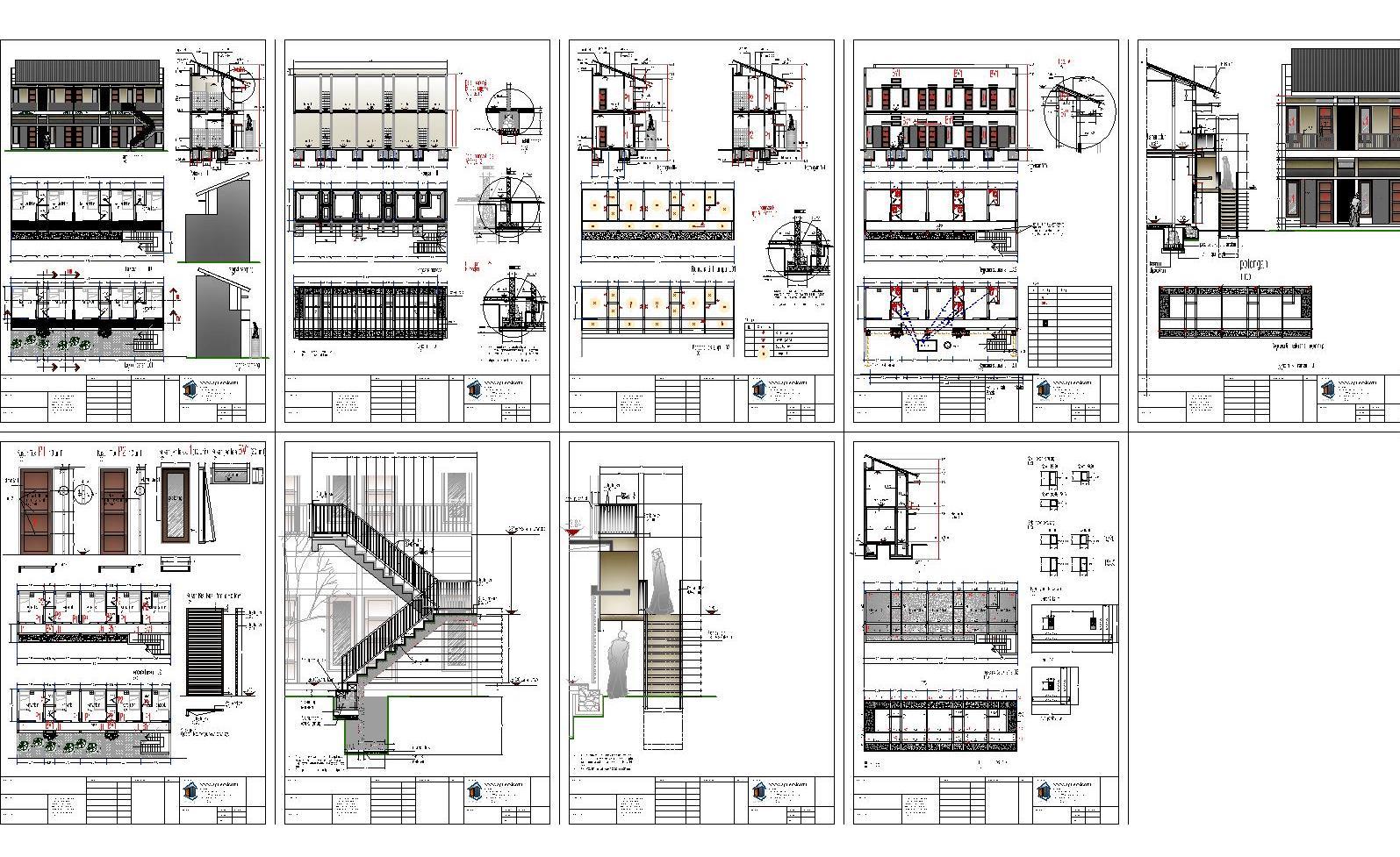 Rumah Kost Tipe Syukur Ryan Lubis Ars Model