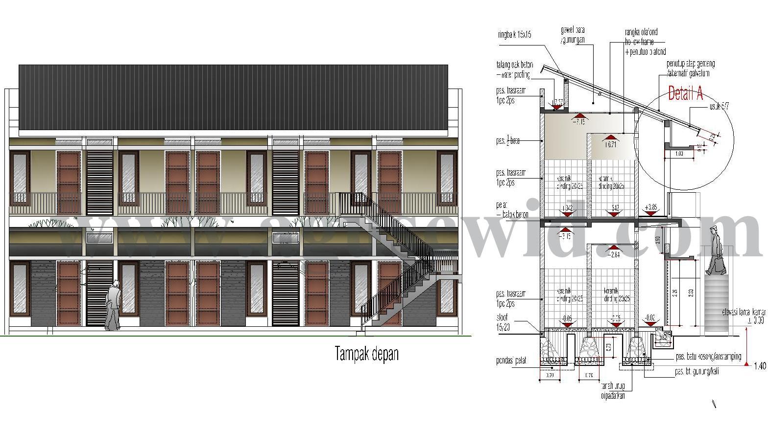 informasi desain ruang bawah atap