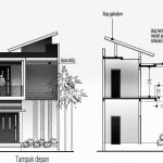 Konsep rumah kost tipe ARJUNA