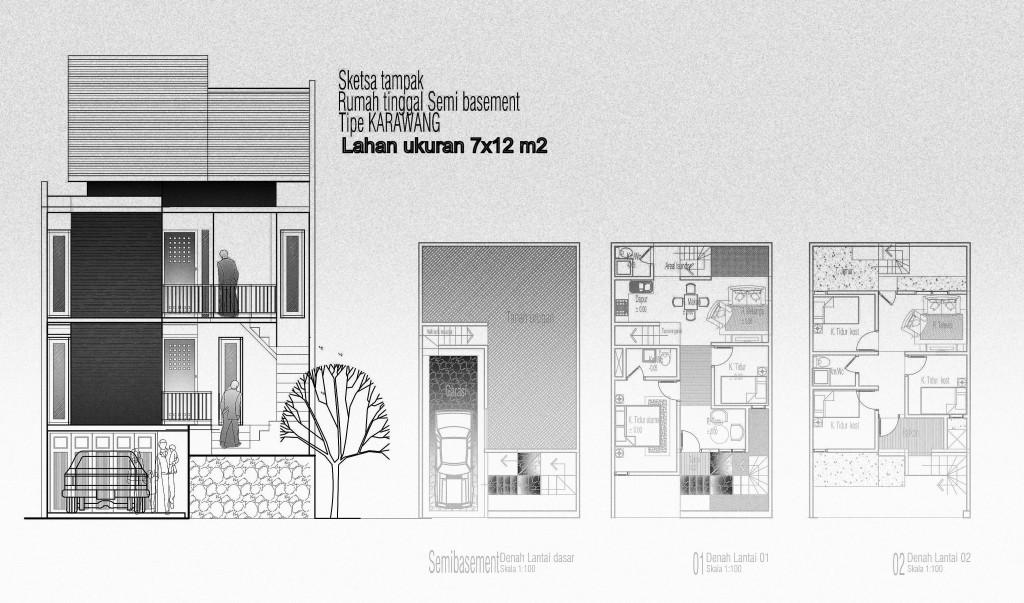 gambar tampak komunikasi arsitektur 08