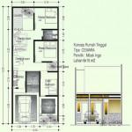 Desain rumah sederhana tipe cemara