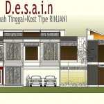 Layout Rumah Tinggal Plus Kost Tipe RINJANI. #Project Review