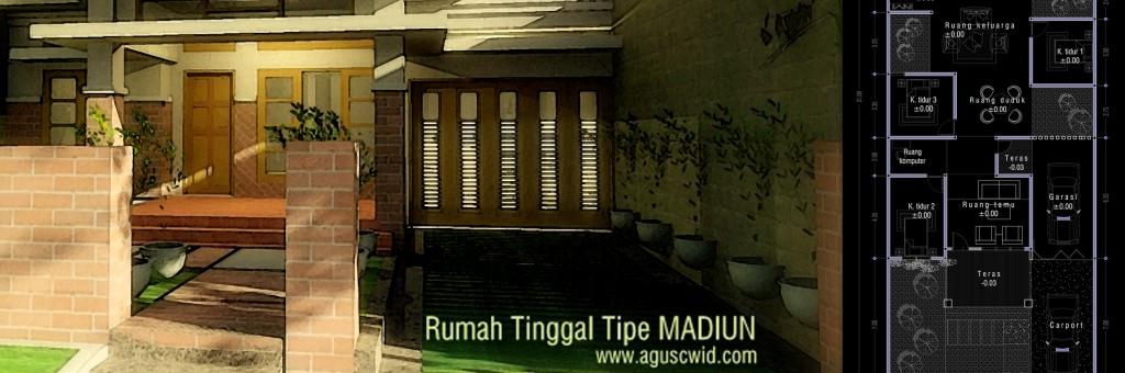 Rumah Tinggal Tipe MADIUN