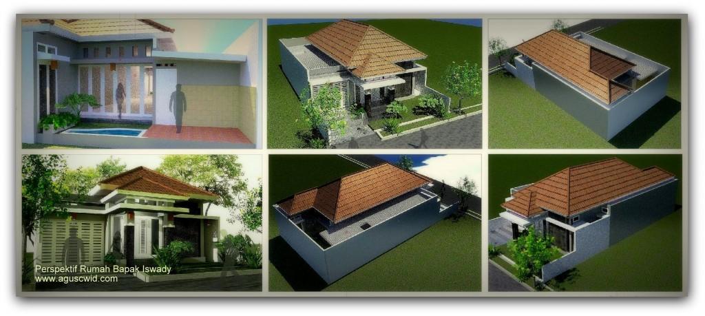 Konsep Desain Rumah Bapak Iswady
