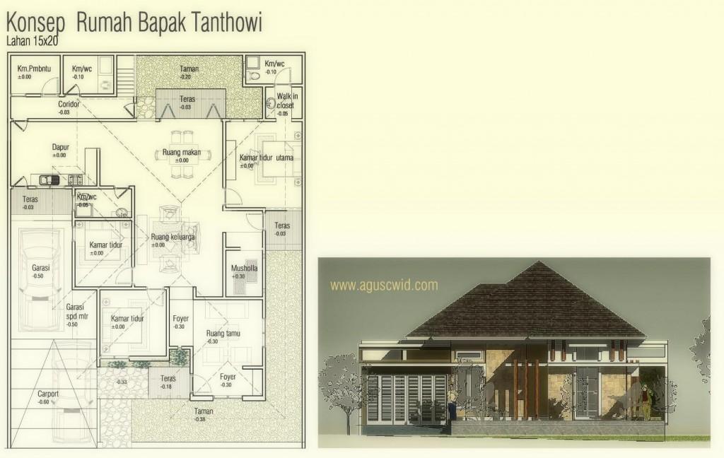 L__PROJECTS_www.aguscwid.com_Desain Rumah Online_Tanthowi_ARS_Rumah Bapak Tanthowi_A1 Model (1)