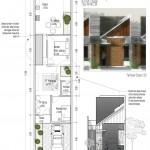Konsep Desain Rumah Tinggal Tipe APRILLIA 5x21m2