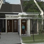Perspektif01_Rumah Ibu Dian_Tangerang Sel_Banten