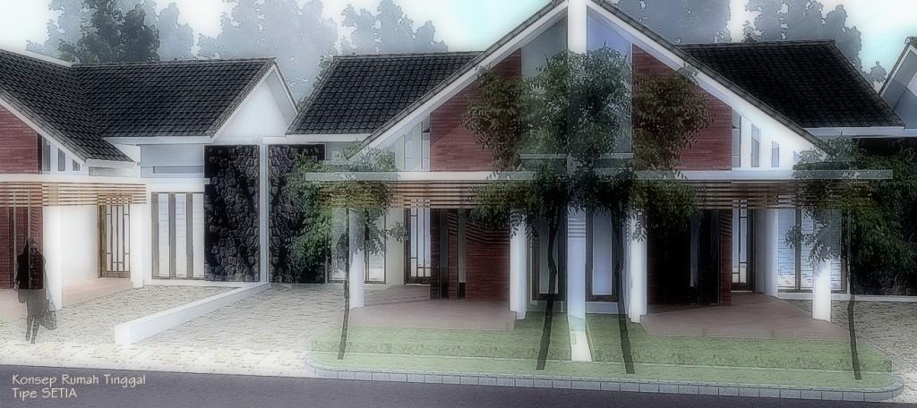 Desain Rumah Tipe SETIA_Perspektif02