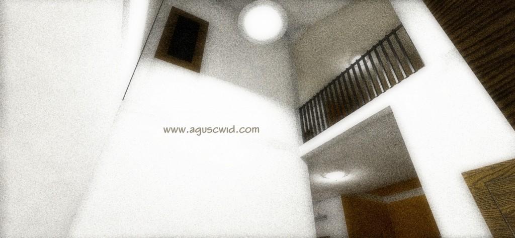 Lantai 02 bila dilihat dari ruang tamu