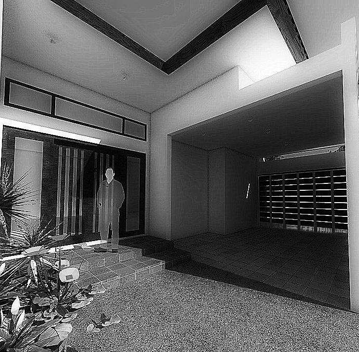 View Garasi01_Rumah Bapak Rahmat_BW