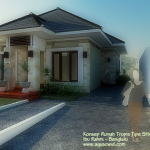 Desain Rumah Ibu Rahmi