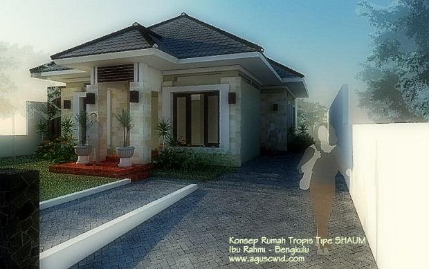 Desain Rumah Tropis di Bulan Ramadhan. Ibu Rahmi-Bengkulu