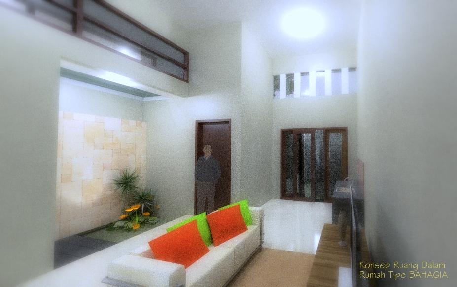 Konsep Interior Tipe BAHAGIA
