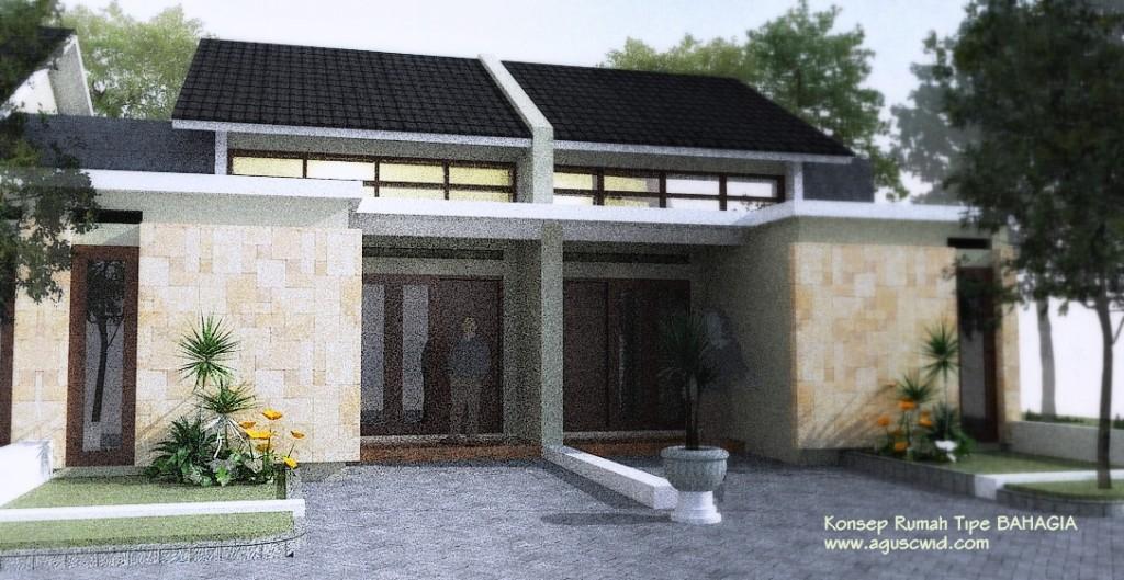 Perspektif Rumah Tipe BAHAGIA