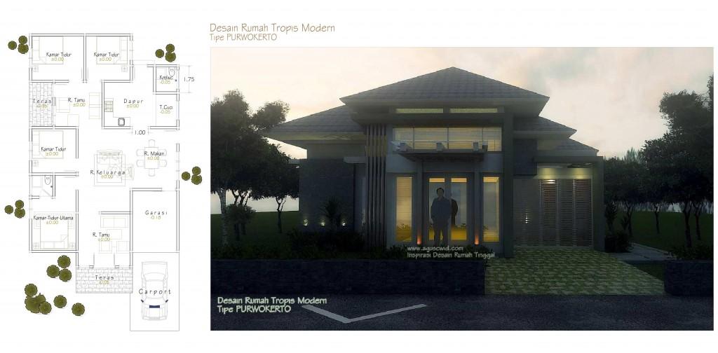 Denah Rumah Modern 2014