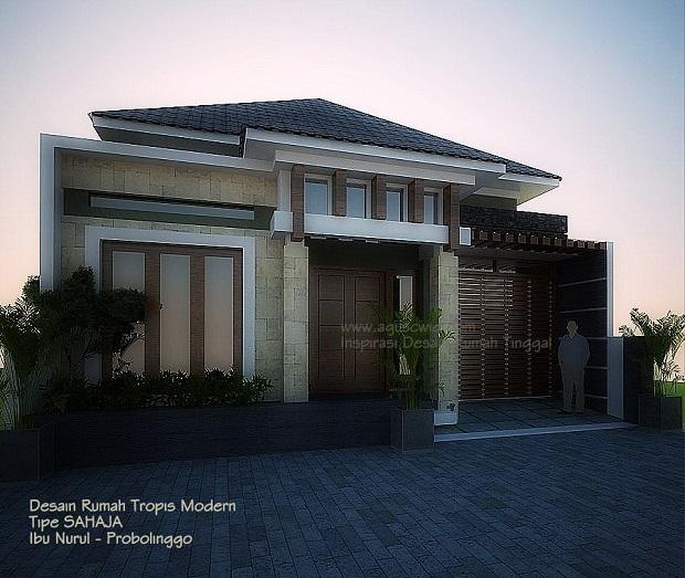 Trend Desain Rumah 2014_PERSPEKTIF02 TIPE SAHAJA