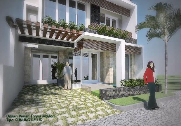 Trend Rumah Tropis Modern 2014