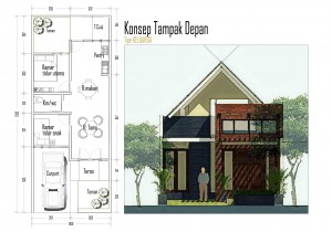 Denah Rumah Sederhana Tahun 2014