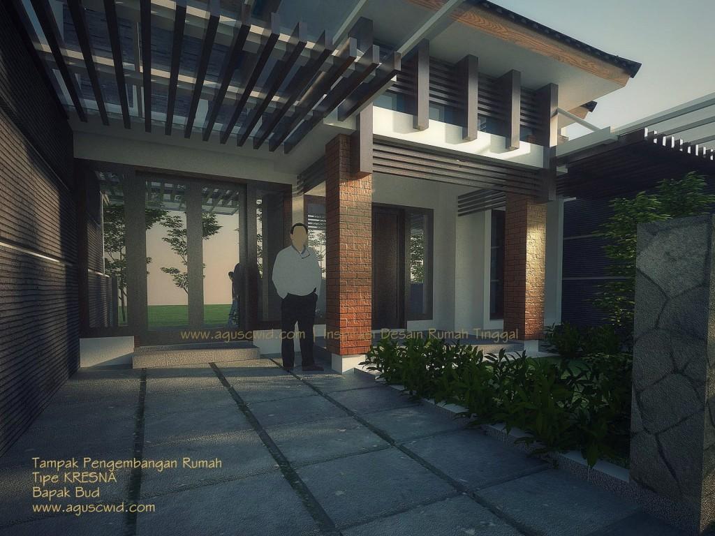 Renovasi Rumah Tropis Modern 2014