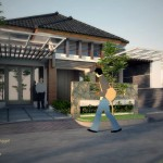 Desain Renovasi Rumah Tinggal Modern 2014