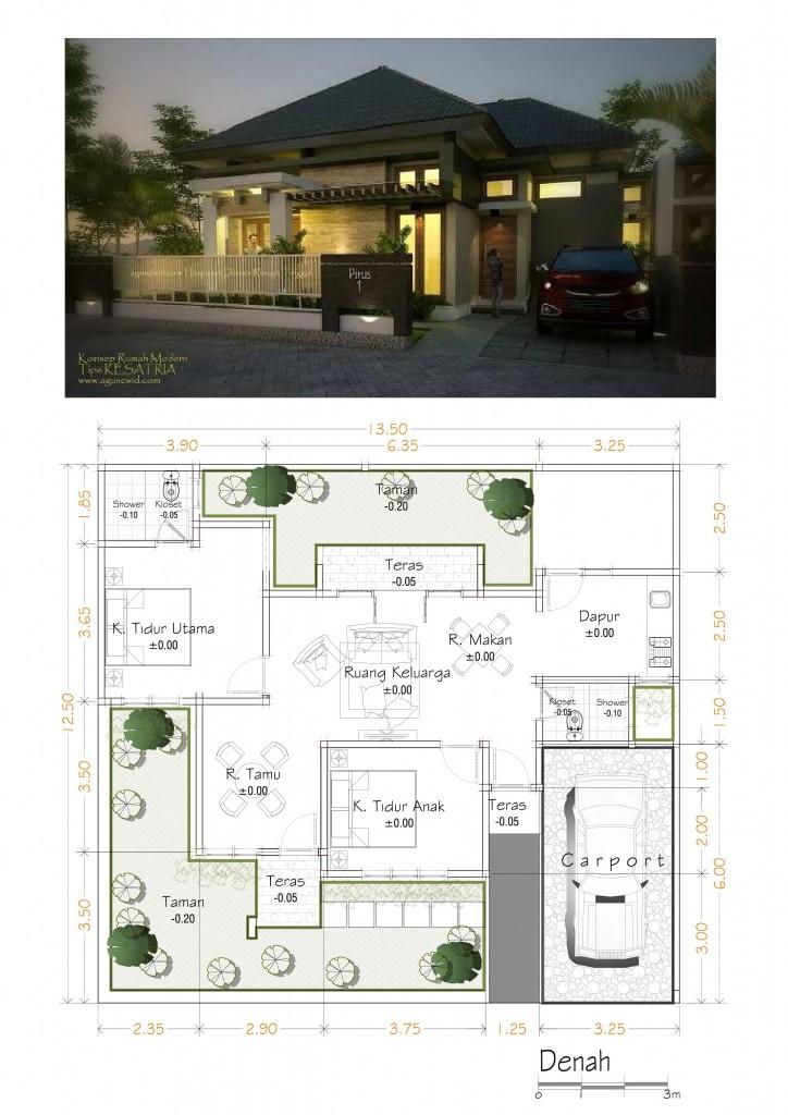 Rumah Tropis/Minimalis Modern 2014