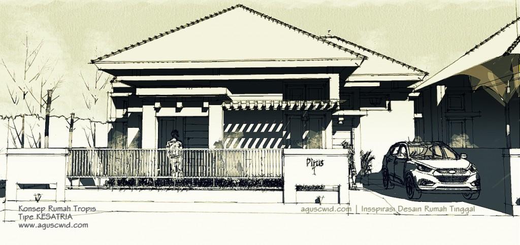 Sketsa Rumah Modern 2014