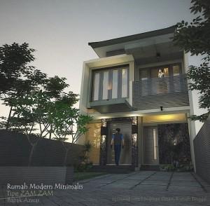 Tipe Zam Zam_Perspektif Rumah Bapak Azwar