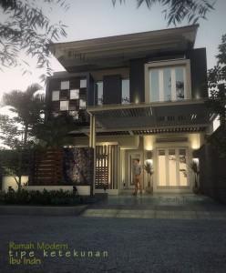 desain rumah urban