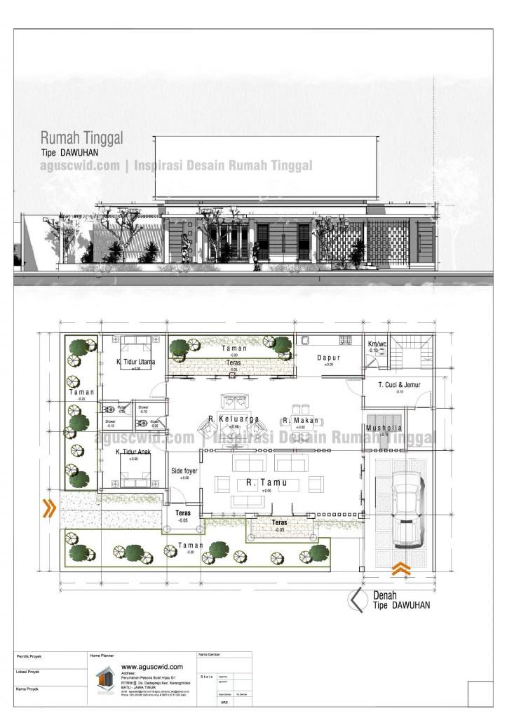 Konsep Rumah Tropis Minimalis