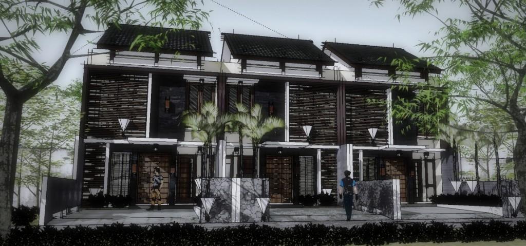Rumah Tropis Minimalis Lebar 6 Meter