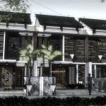 Konsep Tampak Rumah Trropis Minimalis Lebar 6 Meter