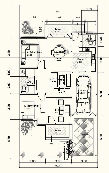 desain rumah sederhana, desain rumah minimalis, minimalis tropis