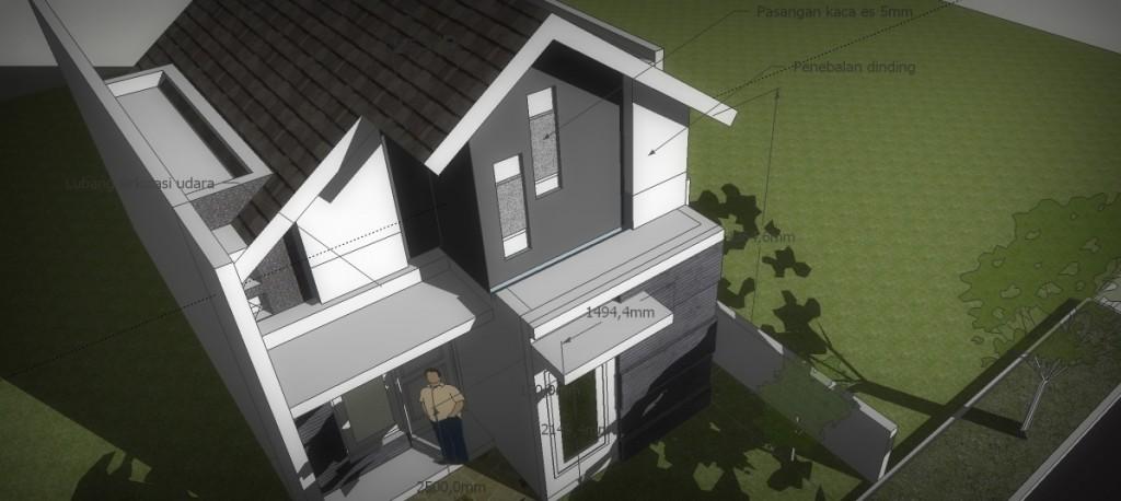 Perspektif Rumah Sederhana
