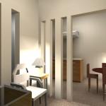 Sketsa 3d ruang tamu