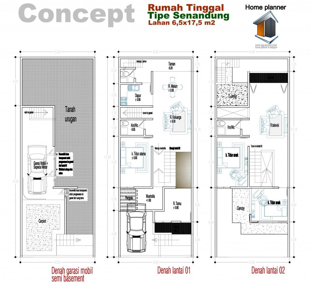 Gambar Menariknya Desain Rumah Ukuran 5 12 1 Lantai Menarik Photo