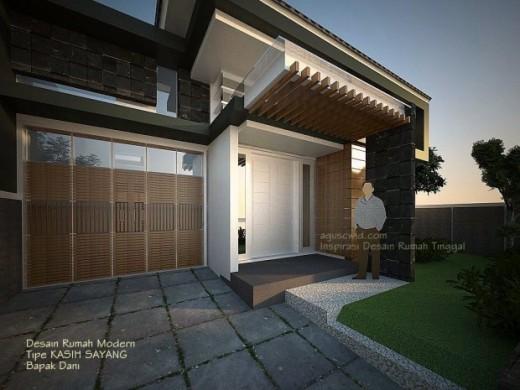 Desain Rumah Modern 2014